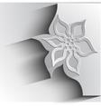 paper flower vector image