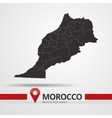Morocco map vector image