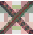 Seamless tartan patterns vector image