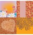 summer wallpaper vector image vector image