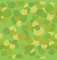 green camouflage paint drops background vector image