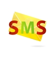 magic gold message vector image vector image