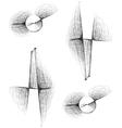 Sketch Exclamation mark Symbol vector image