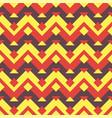 Seamless ethnic zigzag pattern background vector image