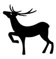 Marvelous deer stands vector image
