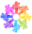 bows round vector image