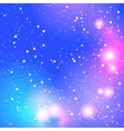 Abstract blurred purple background with bright vector image vector image