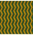 3D Geometric seamless pattern vector image