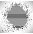 Grey Splat vector image