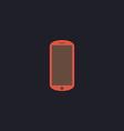 mobile computer symbol vector image