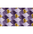 Violet purple color background with Christmas tree vector image