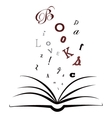 I love books vector image vector image