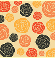 Abstract seamless pattern - art nouveau vector image vector image