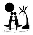 couple life design vector image