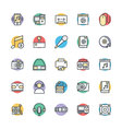 Multimedia Cool Icons 5 vector image