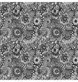 seamless hand drawn seamless flower pattern vector image