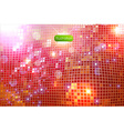 Sparkling Disco Background vector image