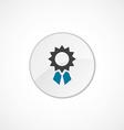achievement icon 2 colored vector image