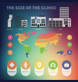 design elements for infographics about vector image