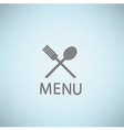 Restaurant Menu Card Design template vector image