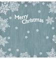 merry christmas vintage greetings vector image