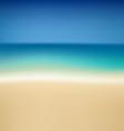 Tropical summer coast vector image