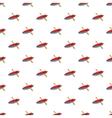 Kayak pattern cartoon style vector image
