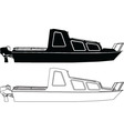 two boats - vector image