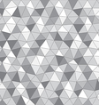 Abstract background of different triangles vector image vector image