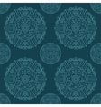 Ornate Mandala seamless texture endless pattern vector image