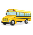 school bus 02 vector image