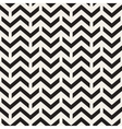 Seamless Black And White Chevron ZigZag vector image