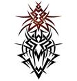 Abstract fantasy dragon vector image