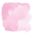 pink watercolor background vector image vector image