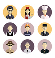 Profession icons 2 vector image