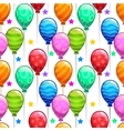 Funny bright birthday party texture vector image