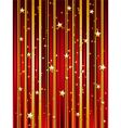starry festive background vector image