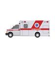 ambulance car emergency vehicle hospital transport vector image