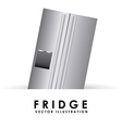 fridge design vector image