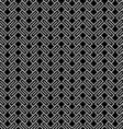 Dark geometric wattled seamless pattern vector image