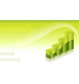 Financial Graphs Background vector image