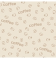 Seamless pattern coffee vector image