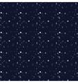 White snow falling on dark background vector image