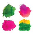 Water-colour blots vector image