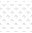 Cup pattern cartoon style vector image