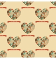 Hipster Love Colorful Seamless Pattern vector image