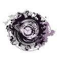 Abstract zodiac clock vector image vector image