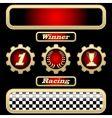 sport trophies vector image