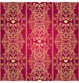 valentine lacy vintage pattern vector image vector image