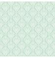 seamless baroque damask luxury turquoise vector image